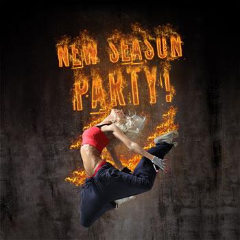 Αφίσα για το πάρτυ του νέου κύκλου σπουδών της σχολής Af Studies, Party poster for AfStudies 2011