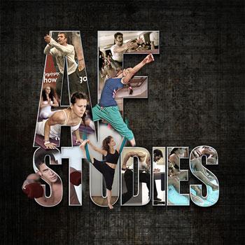 Αφίσα Af Studies, Af Studies; Afstudies.gr; Personal weight Trainer; Pilates Academy; Aerial Yoga; Samiotis; Σαμιώτης